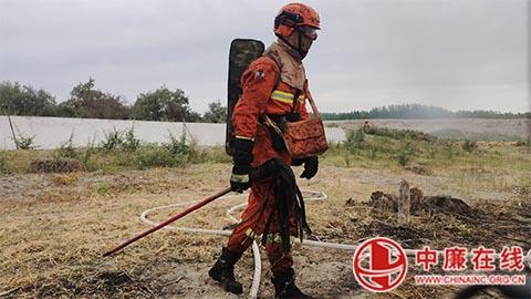 巩留森林消防大队认真组织第二季度按纲建队考核总结工作