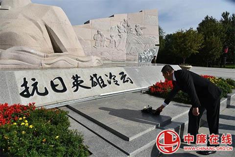 """黑龙江桦川县法院:开展纪念""""九•一八""""主题党日活动"""