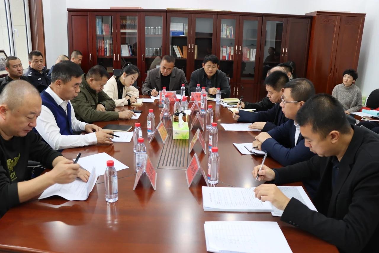 吉林省梅河口市委政法委组织召开反邪教重点工作调度会议