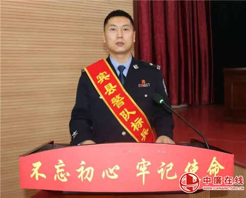 宾县民警徐巍:我最爱的岗位,还是接地气连民心的派出所