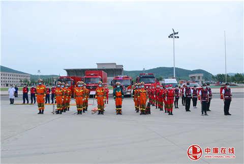 哈尔滨市消防救援支队组织开展重大灾害事故应急救护实战演练